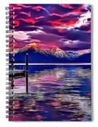 Landscapes 37 Spiral Notebook