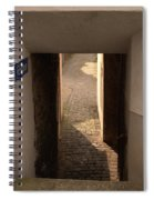 lane in Cochem-Cond in Germany Spiral Notebook