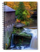 Lanterman's Mill In Fall Spiral Notebook