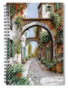 L'arco Dell'angelo Spiral Notebook
