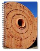 Large Vintage Mooring Buoys Spiral Notebook