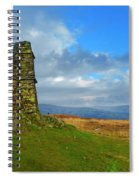 Latterbarrow In Lake District National Park Cumbria Spiral Notebook