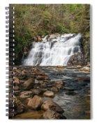 Laurel Falls In Spring I Spiral Notebook