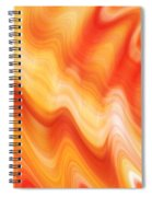 Lava Spiral Notebook