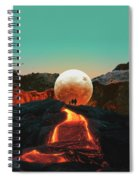 Lava Spiral Notebook