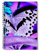 Lavender Butterfly Spiral Notebook