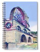 Laxey Wheel 6 Spiral Notebook