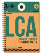 Lca Cyprus Luggage Tag I Spiral Notebook