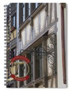 Le Tire Bouchon Winstub Sign Spiral Notebook