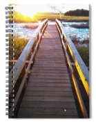 Lead Me To The Light Spiral Notebook