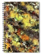 Leaning Strata Spiral Notebook
