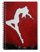 Leap Of Faith Original Painting Spiral Notebook