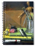 Learn How To Draw Spiral Notebook