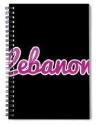 Lebanon #lebanon Spiral Notebook