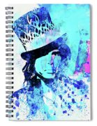 Legendary Aerosmith Watercolor Spiral Notebook