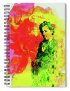 Legendary Bruce Watercolor Spiral Notebook