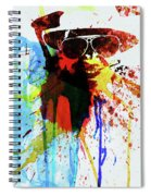 Legendary Fear And Loathing Watercolor Spiral Notebook