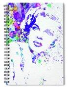 Legendary Judy Garland Watercolor I Spiral Notebook