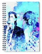 Legendary Pulp Fiction Watercolor Spiral Notebook