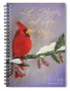 Let Heaven And Nature Sing Spiral Notebook