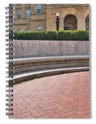 Let Us Have Faith - Madison - Wisconsin Spiral Notebook