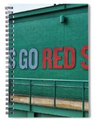 Let's Go Red Sox Spiral Notebook