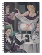 Let's Party Spiral Notebook