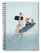 Lets Play Pirates Spiral Notebook