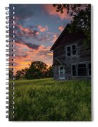 Letters From Home Spiral Notebook