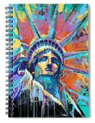 Liberty In Color Spiral Notebook