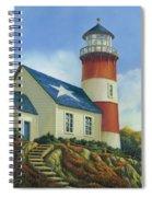 Liberty's Light Spiral Notebook