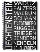 Liechtenstein 1 Spiral Notebook