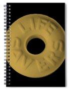 Life Savers Butterscotch Spiral Notebook