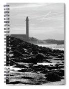 Lifeguard Station Westkapelle Spiral Notebook