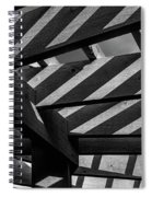 Light And Shadow Abstract Spiral Notebook