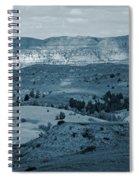 Light And Shadow In West Dakota Spiral Notebook