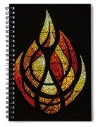 Lighting The Way - Wayland Kaltwasser Flame Spiral Notebook