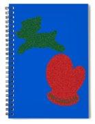 Lightouse Christmas Spiral Notebook