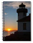 Lime Kiln Sunset Spiral Notebook