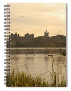 Linlithgow Palace At Dusk Spiral Notebook