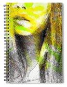 Little China Girl Spiral Notebook