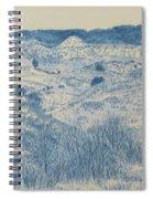 Little Missouri Badlands Enchantment Spiral Notebook