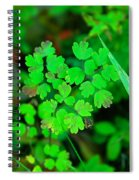 Little Patches Of Color  Spiral Notebook