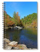 Little River From Little River Gorge Road At Townsend Entrance Spiral Notebook