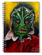 Lizzard V Tv Series  Spiral Notebook
