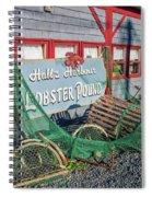 Lobster Pond Restaurant In Halls Harbour Ns Spiral Notebook
