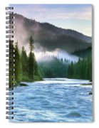 Lochsa River Spiral Notebook