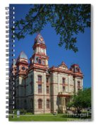 Lockhart Courthouse Spiral Notebook