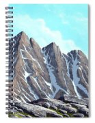 Lofty Peaks Spiral Notebook