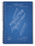 Log Loader Patent Spiral Notebook